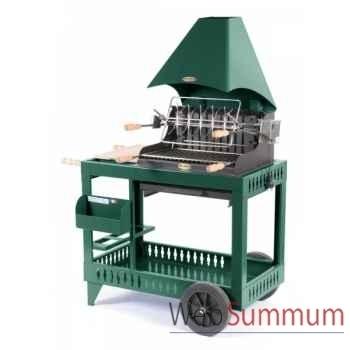 Meharin s/chariot acier - vert Le Marquier -BAR3552C10