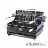 grilloir mendy acier a poser ou encastrer le marquier gbc3640e
