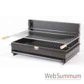 grilloir iholdy acier a poser ou encastrer le marquier gbc3649