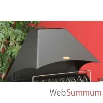 Hotte acier p/ irouleguy - noir Le Marquier -HOT3576C13