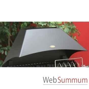 Hotte acier p/ etchalar - noir Le Marquier -HOT3578C13