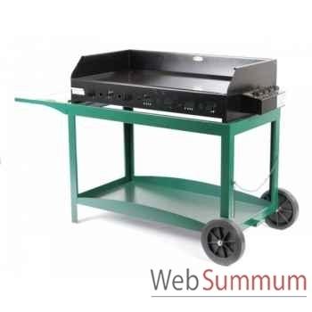 Pakita 4 feux s/chariot - vert Le Marquier -BAP4000C10