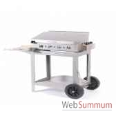 mariza inox s chariot plemaillee 75x40 couvercle le marquier bap3750i