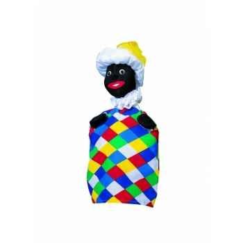 Marionnette Kersa - Arlequin noir - 12860