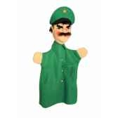 marionnette kersa policier vert 12470