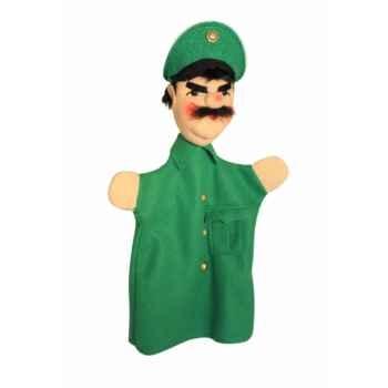 Marionnette Kersa - Policier vert - 12470