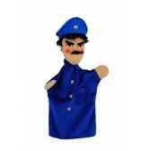 marionnette kersa policier bleu 12471