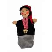 marionnette kersa enfant avec cloche 13740