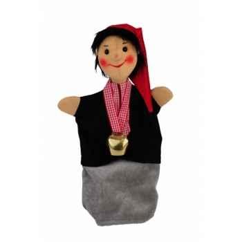 Marionnette Kersa - Enfant avec cloche - 13740