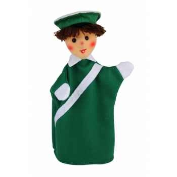 Marionnette Kersa - Policier vert - 15020