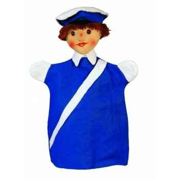 Marionnette Kersa - Policier bleu - 15021
