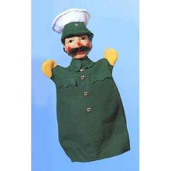 Marionnette Kersa - Policier vert - 30110