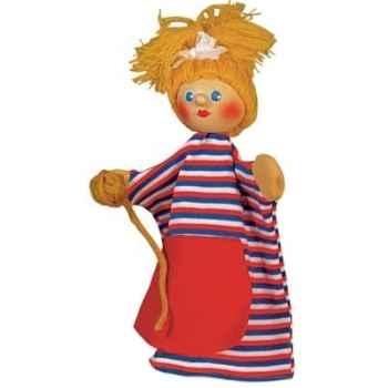Marionnette Kersa - Dame avec pelote de ficelle - 60770