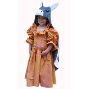 Bandicoot Costume C32 tête Peau d'âne-6 et 8 ans