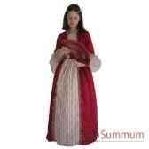 au fides contes robe de marquise rouge avec jupon taille 10 ans
