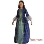 au fides contes robe de marquise bleue avec jupon taille 10 ans