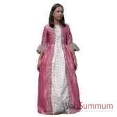 au fides contes robe de marquise rose avec jupon taille 6 ans