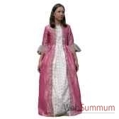 au fides contes robe de marquise rose avec jupon taille 10 ans