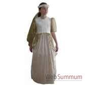 au fides contes robe princesse doree taille 10 ans