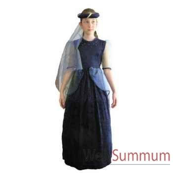 Au fil des contes - Robe princesse bleue - Taille 10 ans