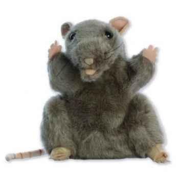 Marionnette peluche à main - Rat-24012