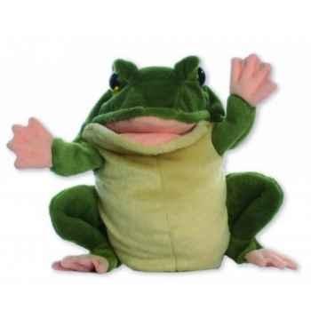 Marionnette peluche à main - Grenouille-24018