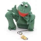 marionnette tissus marcella grenouille 5701