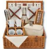 panier pique nique naturals 4 personnes tea hamper classic collection optima 229 534