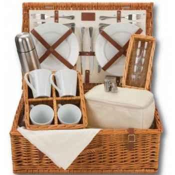 Panier pique nique naturals 4 personnes tea hamper - classic collection Optima -229 534