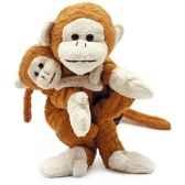 marionnette tissus jacky le singe 5719