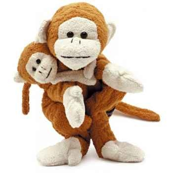 Marionnette tissus- Jacky le singe -5719