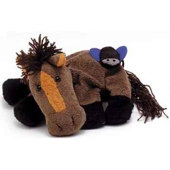 Marionnette tissus- Albert le cheval -5720