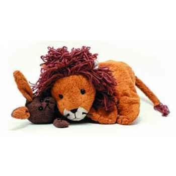 Marionnette tissus- Edward le lion -5722