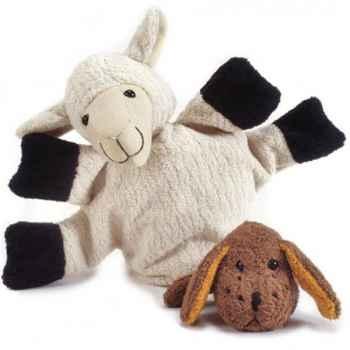 Marionnette tissus- Mouton Clara -5723
