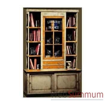 Meuble de libraire Félix Monge -172/PC172