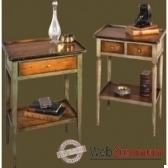 tables verre deau a 1 ou 2 tiroirs felix monge 088 pc088