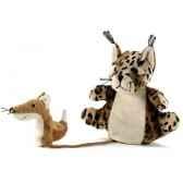 marionnette tissus lynx wassy 5728