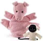 marionnette tissus cochon valerie 5732