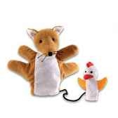 marionnette tissus renard fjodo 5733