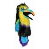 marionnette peluche a main toucan 23103