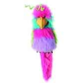 marionnette peluche a main oiseau de paradis 23107
