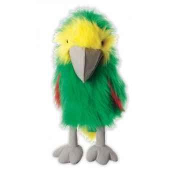 Marionnette peluche à main - Perroquet Amazone-23110