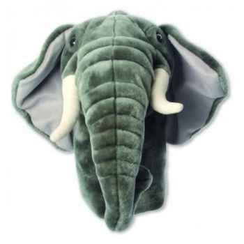 Grande Marionnette peluche à main - Eléphant-23202