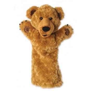 Grande marionnette peluche à main - Ours-26002