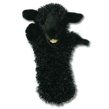 Grande marionnette peluche à main - Mouton noir-26005