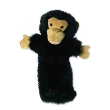 Grande marionnette peluche à main - Chimpanzée-26007