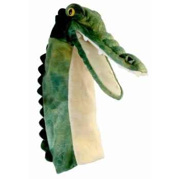 Grande marionnette peluche à main - Crocodile-26010