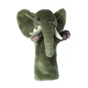 Grande marionnette peluche à main - Eléphant-26012