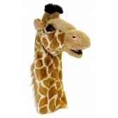 grande marionnette peluche a main girafe 26015