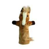 grande marionnette peluche a main cheva26021